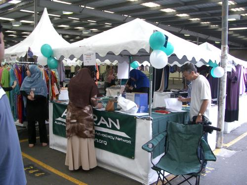 AMCRAN Stall at MEFF 2005